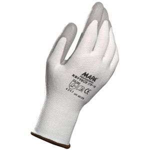 MAPA Krytech 579 Größe 9  weiß Schnittschutz Handschuh Polyurethan besch. 1 Paar