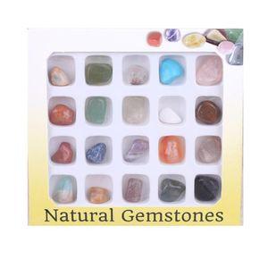 Set Von 20 Healing Kristall Natš¹rliche Edelstein Poliert Chakra Stein Sammlung Kits