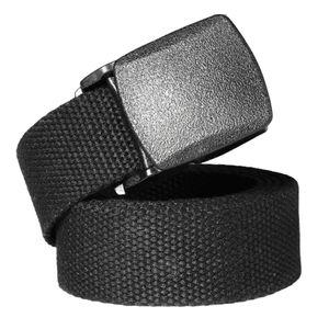 Gürtel Herren, Stoffgürtel Herren, Herren Gürtel, 38mm Breit Leder Gürtel, Schwarz Schwerlast 3,8 cm Nylon Gurtband