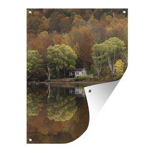 Gartenposter - Haus auf Cape Breton - 90x120 cm
