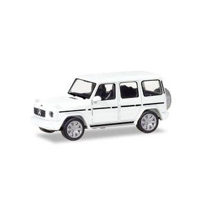 Herpa 420280 Mercedes Benz G-Klasse weiss Maßstab 1:87