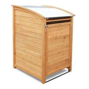 HABAU Mülltonnenbox PLUS für 120 Liter Tonnen, 65 x 75 x 116 cm