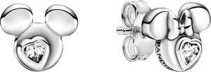 Pandora Ohrringe Disney Mickey Maus Minnie Maus Zirkonia Sterling Silber 925 299258C01