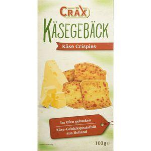 Cräx Käsegebäck Käse Crispies Butter Blätterteig Käsegebäck 100g
