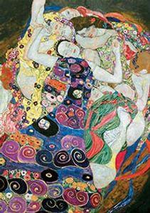 Der Kuss + Die Jungfrau, Gustav Klimt 2 Puzzles x 1000 Teile
