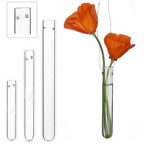 Reagenzgläser mit Loch zum Hängen, 12 Stück, 10 cm lang, Reagenzglas zum Aufhängen