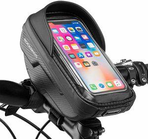 ROCKBROS Fahrrad Lenkertasche Wasserdicht Rahmentasche Tasche Touchscreen Handy 6.2''