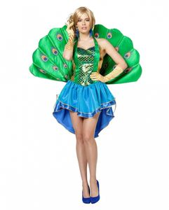 Erotisches Pfau Damen Kostüm Größe: 40