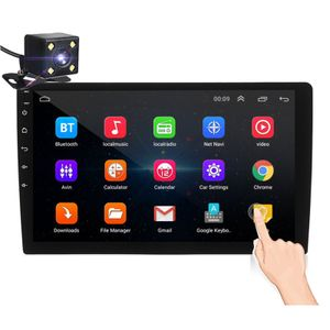 iMars 10.1 Zoll 2Din für Android 8.1 Auto MP5 Player 1 + 16G IPS 2.5D Touchscreen Stereoradio GPS WIFI FM mit Rückfahrkamera