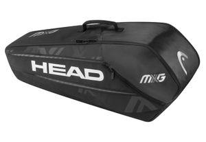 HEAD MxG 6R Combi Tennistasche Schwarz
