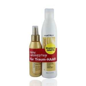 MATRIX Total Results DUO PACK Blond Care Shampoo 300ml + Blond Care Flash Filler - für blondes Haar 125ml