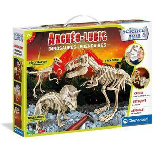 CLEMENTONI Archéo Ludic - Legendäre Dinosaurier - Wissenschaft & Spiel