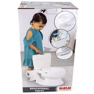 Dolu Toilettentrainer Creme Junge Mädchen Kinder Toiletten Sitz Lern Töpfchen