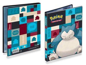 Pokemon Sammelalbum - Snorlax 4-Pocket Portfolio - Pikachu, Glurak