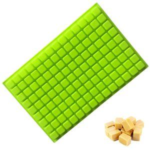 126 Hohlräume Mini Square Silikonform / Pralinenform für Gummibärchen Trüffel Pralinen Karamellen