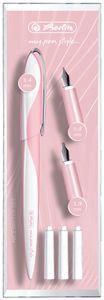 """Herlitz Kalligraphie-Set my.pen Nicewriter """"Style Rose"""" weiß rosa"""