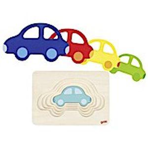 Schichtenpuzzle Auto, per St