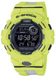 Casio G-Shock GBD-800LU-9ER Armbanduhr Bluetooth Lemon green