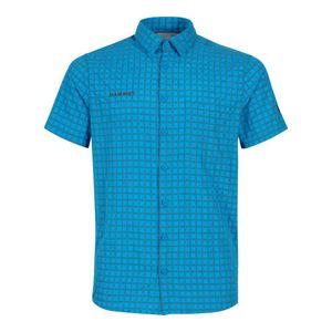MAMMUT Lenni Shirt Men 50371 gentian-titanium L