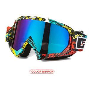 Sportbrille Motorrad Windschutzscheibe Brille Motorradbrille Simple Style Fashion TPU PC Radfahren Skifahren