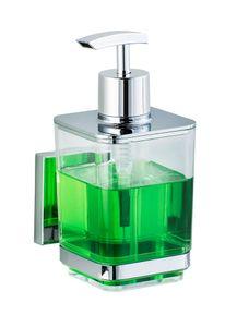 Vacuum-Loc® Edelstahl Seifenspender Quadro