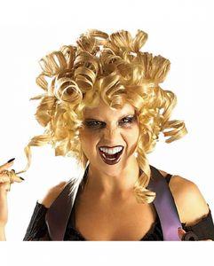 Blonde Ghouldilocks Halloween Perücke