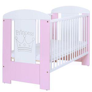 LCP Kids Kinderbett Prinzessin Rosa 120x60 cm