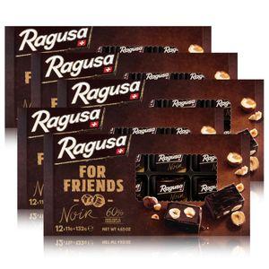 Ragusa for Friends Noir - Pralinen aus dunkler Schokolade 132g (5er Pack)
