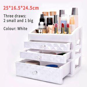 Kosmetik Aufbewahrungsbox Kosmetikbox Make-up Storage Organizer 3 Schubladenbox