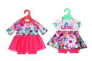 ZAPF 826973 BABY born® Trend Babykleid 43cm, sortiert