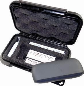 MAX PRODUCTS Transportbox Etui für ORIGINAL IQOS 3 mit passender Hartschaumeinlage für Pocket Charger, Holder, Heets, Reinigungsstift, Reinigungs-Sticks (Nicht enthalten!)