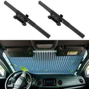 2X Auto Sonnenschutz Autos Armaturenbrett Fensterabdeckungen Auto Windschutzscheibenabdeckung Innen UV-Schutz Zubehör