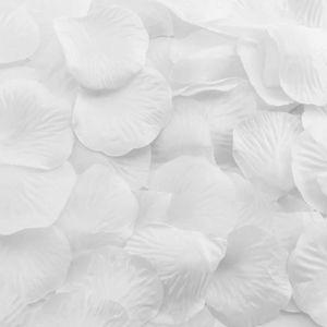 Oblique Unique 100 Rosenblätter Rosenblüten Hochzeit Valentinstag Hochzeitsantrag Streudeko Romantik Deko - weiß