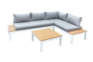 Gartenfreude Lounges Aluminium Lounge Ambience WPC-Streben