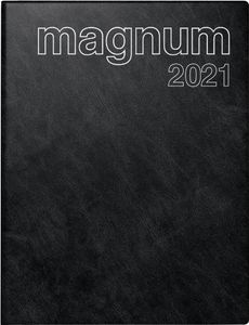 "rido idé Buchkalender ""magnum Catana"" 2021 183 x 240 mm schwarz"