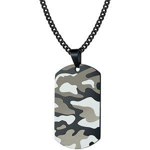 Mllaid Herren ecklace Camouflage Anhänger Personalisiertes Personalisiertes Geschenk