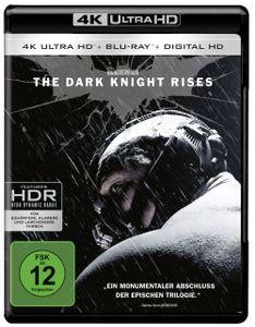 Batman:  Dark Knight Rises(UHD+BR) 2Disc Min: 158DD5.1WS  +UV