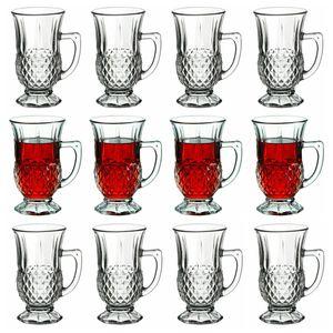 12x Pasabahce Istanbul Teegläser mit Henkel Cappucino Kaffee Trinkgläser 160 ml