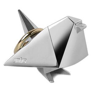 Umbra Origami Vogel Ringhalter Chrome