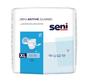 Seni Active Classic extra large Inkontinenzslip/Pants, wie Unterwäsche - 60 Stück