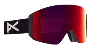 ANON Schneebrille Sync MFI black/perceive sunny red mit Wechselglas