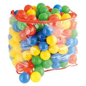 Bieco Bälle für Bällebad | 250 Stück, Größe ca. 6 cm | Bunte Bälle | Kinder Bällebad Bälle | Plastic Balls | Geeignetes Bällebad für Babys | Bällebad Kinder