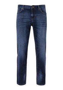 Alberto - Herren 5-Pocket Cosy Jeans Regular Fit (1859 4817), Größe:W34/L32, Farbe:Navy (898)