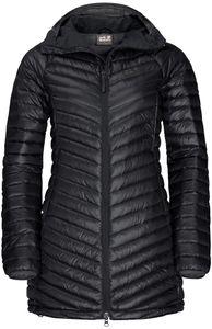 Jack Wolfskin Atmosphere Mantel Damen black Größe XL