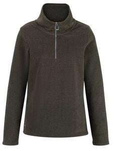 Regatta fleece-Trikot Sollene Damen Polyester khaki