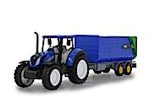 JAMARA New Holland Traktor mit Kipper 32,5 cm blau