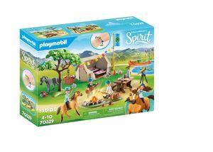 PLAYMOBIL Spirit 70329 Sommercamp