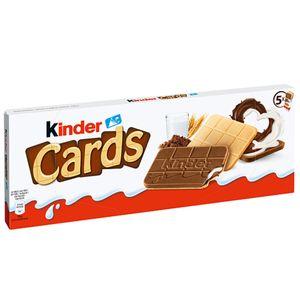 Ferrero Kinder Cards Waffel Spezialitäten mit Kakaocreme 128g