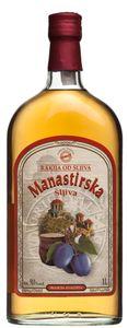 Starker Pflaumenbrand Sliwowitz Manastirska Simex 1,0 l alc. 50%