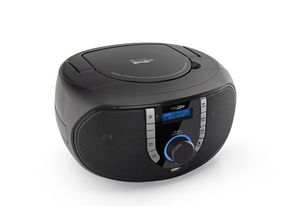 Caliber DAB+ CD-Radio HBC433DAB-BT, AUX, Bluetooth®, CD, UKW, Farbe: Schwarz